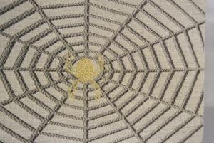帯_ベージュ蜘蛛の巣_(おたいこ柄アップ)